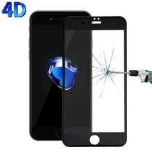 For iPhone 7 Plus Screen Protector 0.26mm 4D Explosion-proof Full Cover Film For iPhone 7 Tempered Glass Screen Protector Guard