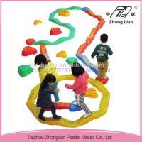 Ergonomic design safe plastic toys playground toys
