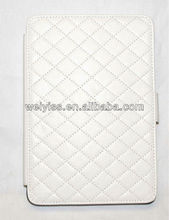 Cream Clour Quilted Tablet Cover Case for iPad mini