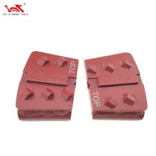 PCD Metal Bond Diamond Tool Concrete Grinding Tools For HTC Grinder