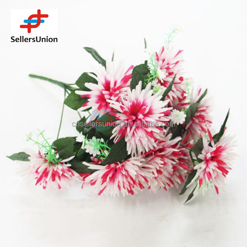 No.1 yiwu exporting commisssion agent wanted home interior decoration artificial flower 46cm
