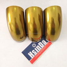 Electrostatic Metallic Chrome Gold Color Powder Coating
