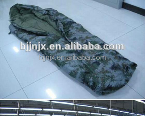 Duck down Fashion military camping sleeping bag of waterproof outdoor