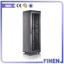 "19"" rack 18U-42U Server Rack Mesh Door Network Cabinet For Data Equipment"