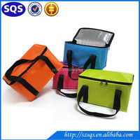 600D polyester promotion beer cooler bag disposable refrigerated cooler bag