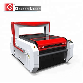 Vision Flying Scan Laser Cutter for Sublimation Printed Team Uniforms