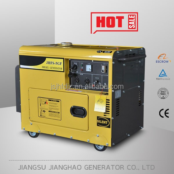 10kva 8kw air-cooled silent electric generator