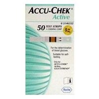 accu-chek active test strips (50 pieces)