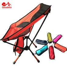 High Quality Comfortable Outdoor Folding Beach Chair-Ultralight Foldable Chair with Adjustable Legs