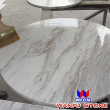 New Style Marble Eased Edge Round Table Top