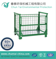 steel metal storage cages with wheels