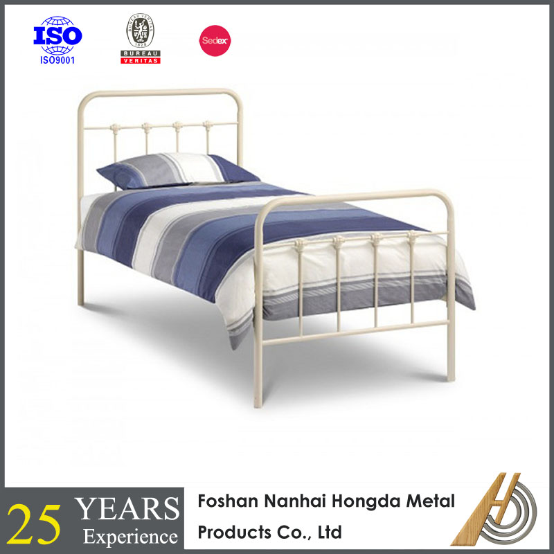 Strong Day Strong Bed In Black Metal Finish