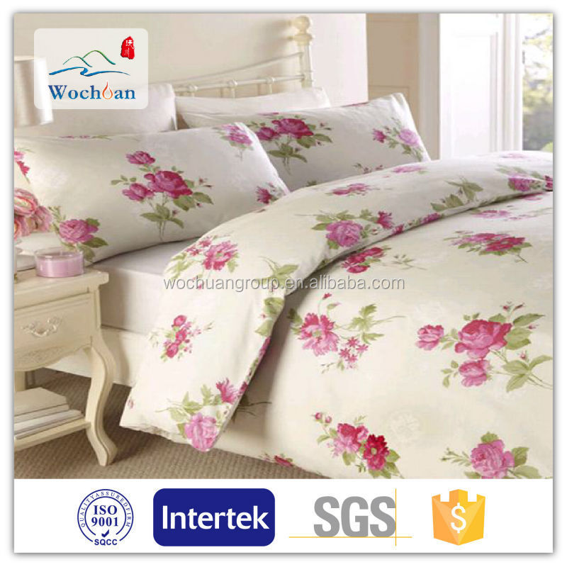 100% Cotton bed linen fabric for bed sheet in roll