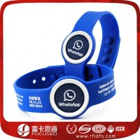 buy Focused smart nfc wristband can unlock the phone