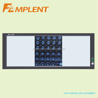 three panels led radiographic film viewer for hospital