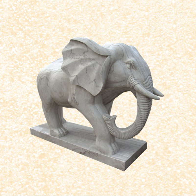 Hand carving elephant ivory carvings