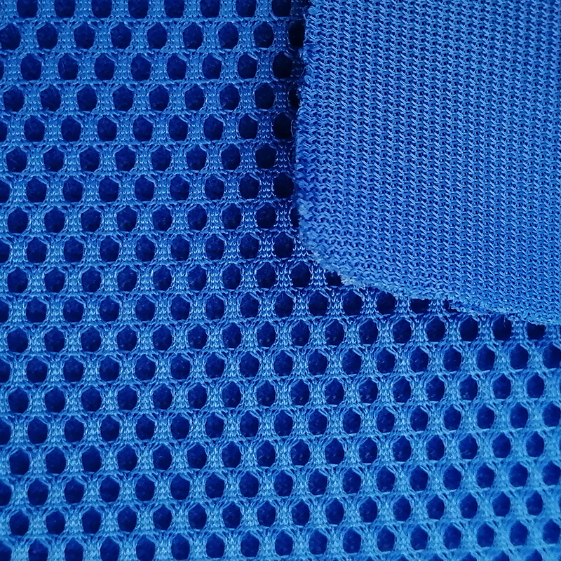 87 <strong>Polyester</strong> 13 Elastane Thick Water Proof Mesh Fabric