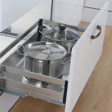 Stainless Steel Kitchen Cabinet Drawer Basket/Pull Out Basket/Stove Basket(201.400.600)