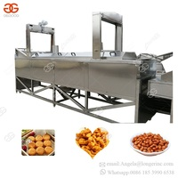 China Hot Sell Automatic Gas Oil Frying Continuous Fryer Potato Flakes Production Line French Fries Chips Making Machine