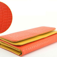 Wholesale Price Luxury Design Leather Women Wallet Purse