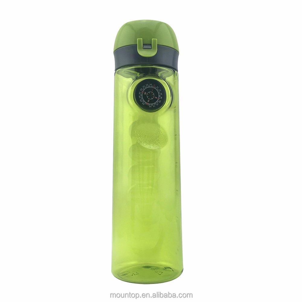 new items 2016 bulk nike sports plastic bottle factory water bottle with compass