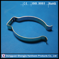 China components custom stamping precision small metal clip