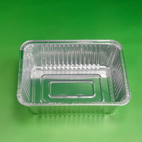 220*155*45cm rectangle aluminium foil box food container bulk production