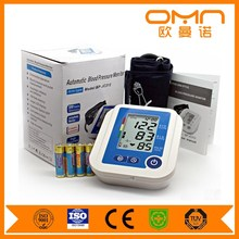 Free Sample LCD Display Manual Ambulatory Digital Electronic Arm Blood Pressure Monitor Blood Pressure Measurement Devices