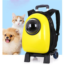Pet Products Breathable Lovable Trolley Dog Carrier Backpack