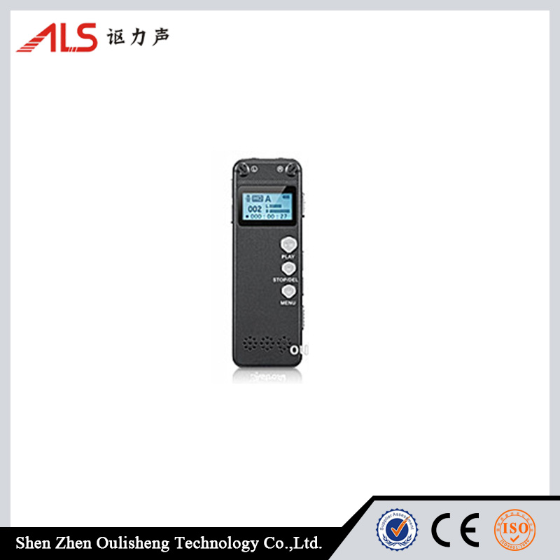 Microphone HD Recording 8GB Professional Digital Voice Recorder with MP3 Player
