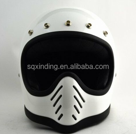 stylish Half Face Vintage Safety Construction Motorcycle Helmet