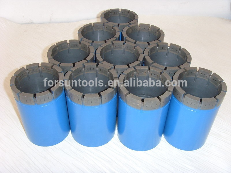 BW NW HW HWT SW PW PWT impregnated diamond casing shoe bits