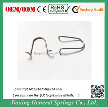 Manufacturer Custom 1.0mm Diameter U Shape Retaining Spring Clip