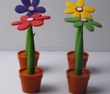Wholesale Sunflower pen with stand
