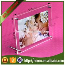 "High Quality Clear Colour 5"" Magnetic Acrylic Photo Frame"