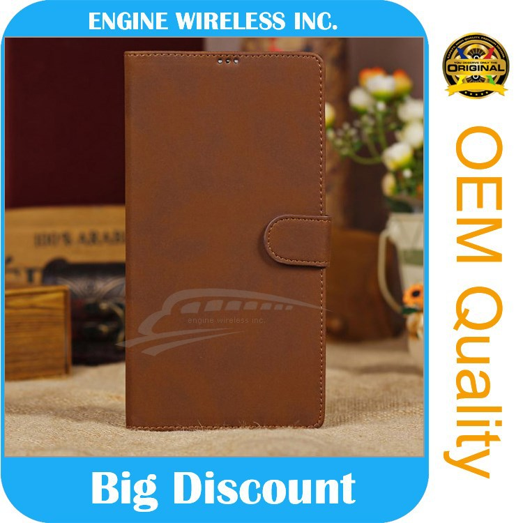 china suppliers leather belt clip flip wallet case for iphone 5
