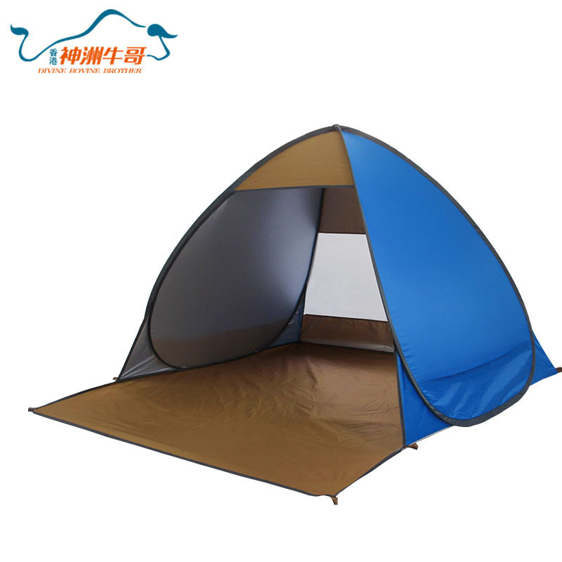 Easy To Operate Collapsible inflatable camping tent