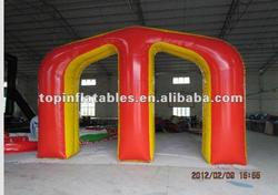 Paintball obstacle field,inflatable bunkers customized