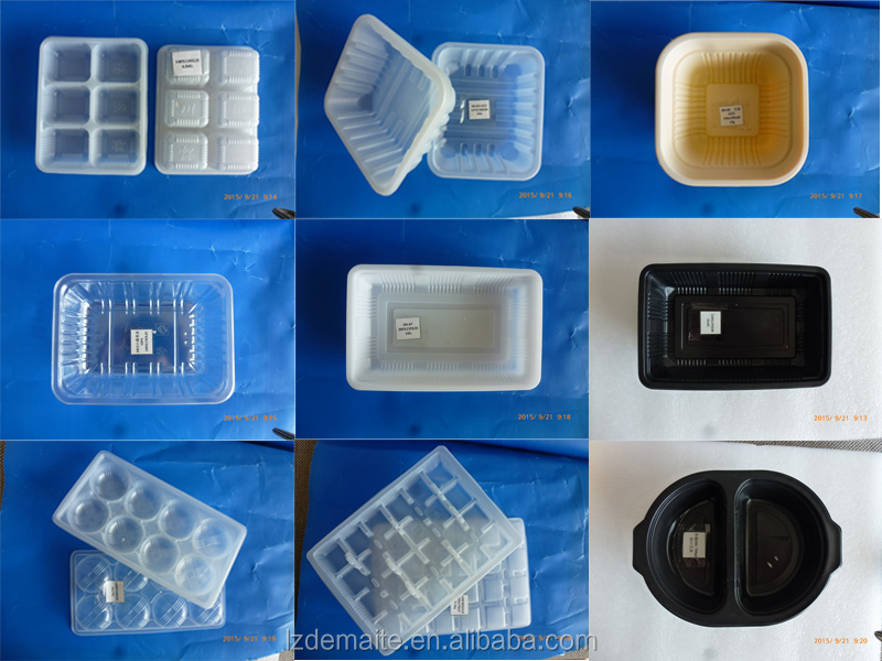 China Food Packaging Manufacturer Customized PP PET Mushroom Container