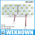 5050SMD 12LED 6W BA9S car led light &led car dome light & automotive dome light