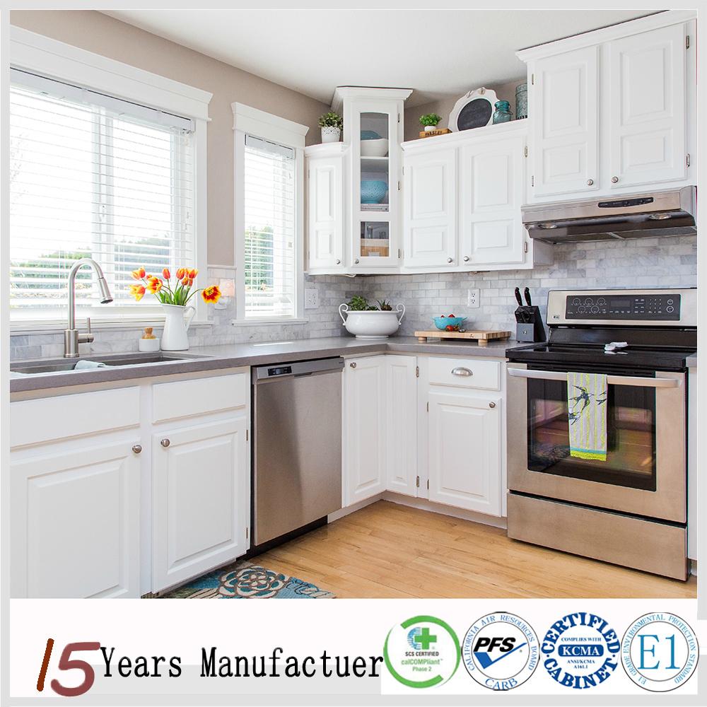 Latest White Melamine Mdf Kitchen Cabinet Doors Design Cheap Price