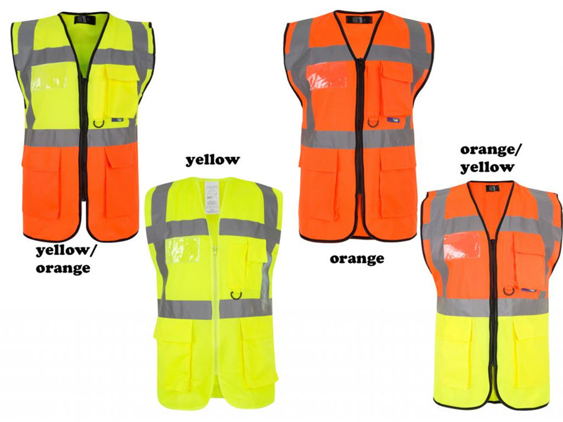 Wholesale reflective vest work clothing