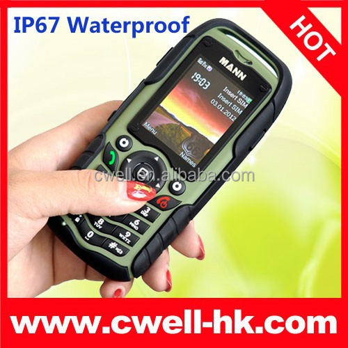 Dual SIM MANN ZUG 1 Rugged Phone Long Standby Anti-shock ip67 mobile phone waterproof