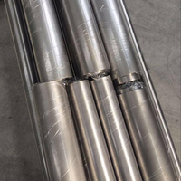 GR2 titanium seamless tube for heat exhaust systems