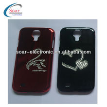 Diamond Metal Aluminum Chrome Hard Case for Samsung Galaxy S4 i9500