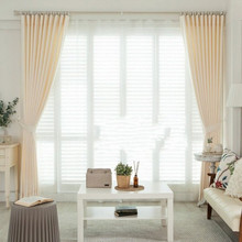 Fancy curtain designs white curtain for bedroom living room window