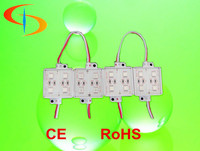 2015 Best selling advertisting lighting 12V Injection 5050 4pcs led module waterproof for sign board