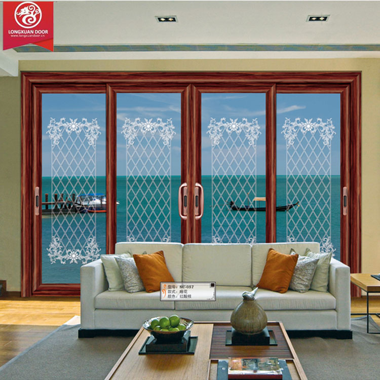 Factoy Custom 4-Panel Sliding Aluminium Door Window