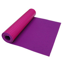 Environmentally Friendly Extra thick doubel color 6mm PVC yoga mat