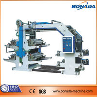 YT Series 4 color good price four colors flexo printing machine/flexible printing machine